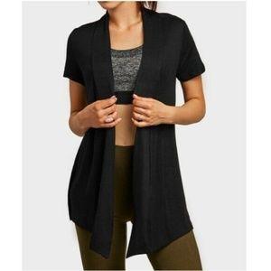 Silky Soft Short Sleeve Lightweight Cardigan
